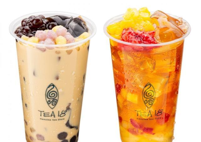 台湾茶&タピオカ店「TEA18」日本上陸4周年記念ドリンク販売