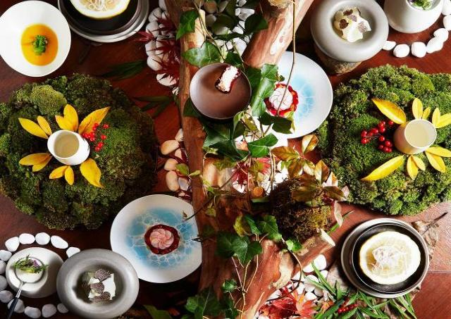 1年を72に分けた細やかな季節感を極上の料理で表現