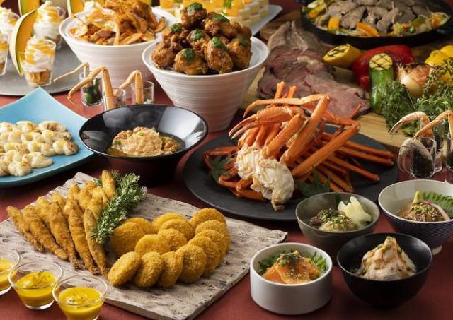 北海道の美味を新しいブッフェで楽しむ