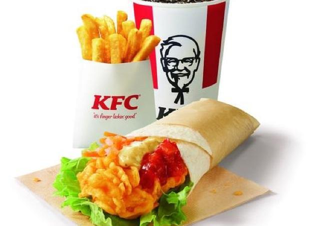KFCの「ツイスターセット」が500円に!ドリンクは無料でサイズアップ。
