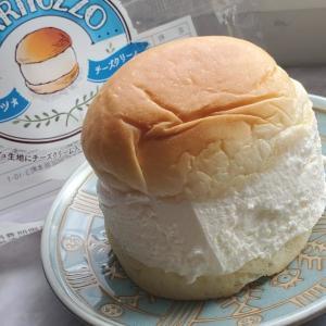 スーパーでチーズクリーム味の「マリトッツォ」発見。ほんのり甘くて爽やかで美味しい~!