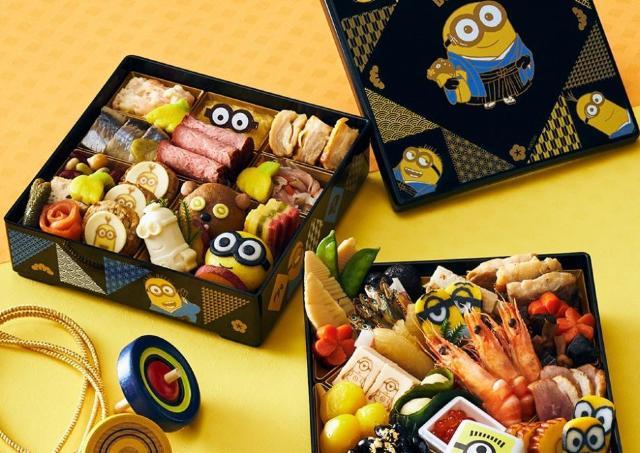 ミニオンやすみっコと新年のお祝い。めちゃカワ「おせち」予約しなきゃ。