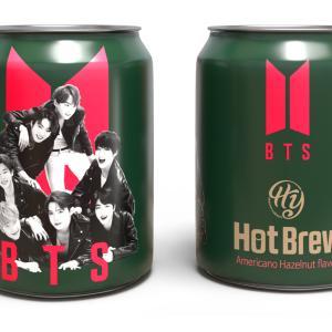 日本で先行発売!「BTS」初の限定デザイン缶コーヒー、絶対ゲットね。