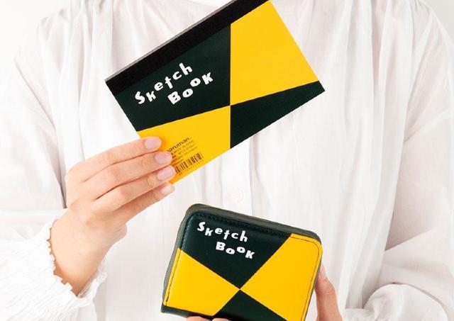 【付録】文具好きさん聞いてー。「図案スケッチブック」がカードケースになったって!