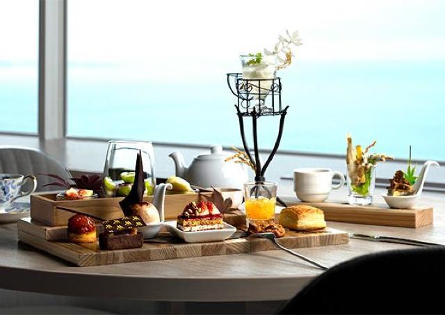「収穫祭」をテーマに秋の味覚が集うアフタヌーンティー 琵琶湖マリオットホテル