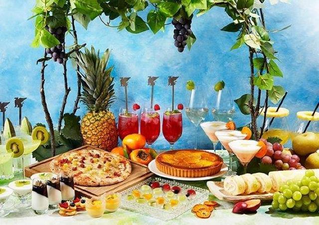 堀内果実園で採れた旬のフルーツを使ったアフタヌーンブッフェ