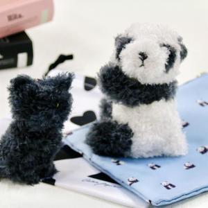 罪な付録だわ...ふわふわのジェラピケパンダとネコちゃん。両方お迎えしたい!