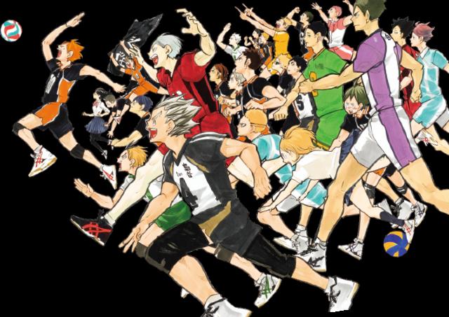 人気漫画「ハイキュー!!」の連載完結記念展 札幌で開催