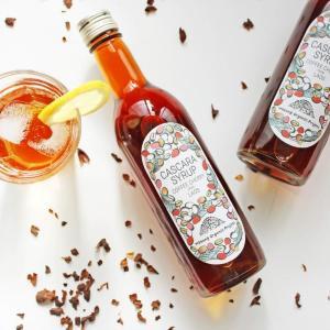 【プレゼント】フルーティーな味わい! コーヒーの果皮で作った「カスカラシロップ」(5名様)