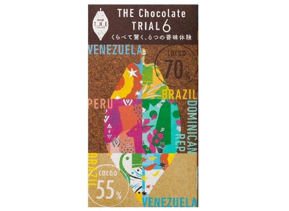 「明治 ザ・チョコレート」に6種類の味が楽しめるアソートが登場!数量限定だよ。