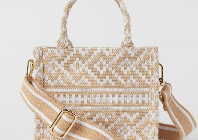 2000円台はびっくり!H&Mのバッグがめっちゃ高見えして可愛い。