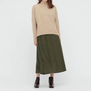 「シルエットがとても素敵」秋はユニクロの「袴っぽい」プリーツスカートが大活躍。