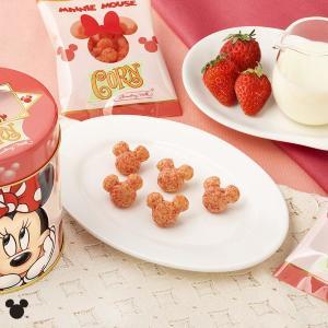可愛いミニー缶にキュン!「東京ばな奈」の3Dミッキーにいちごミルク味出たよ~。
