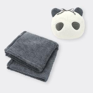 待って。パンダ可愛すぎん?GUの「4WAYブランケット」新作は買うしか。