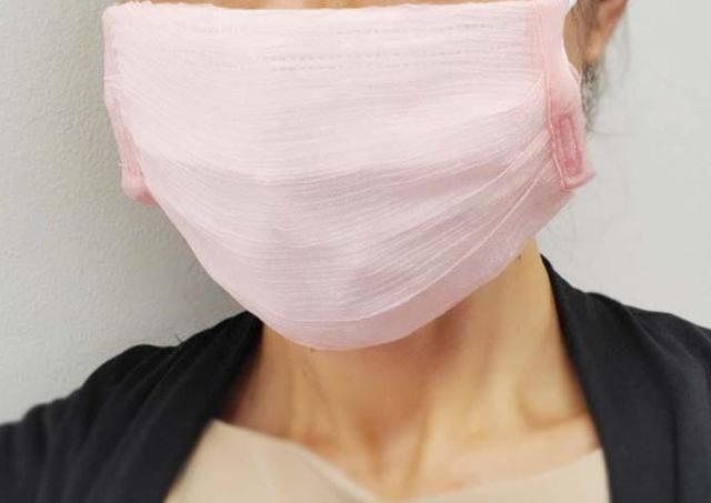 スリコの秋色マスクカバーが良き。不織布マスクにつけるだけでキレイ見えするよ