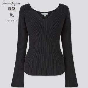 【ユニクロ】デコルテがきれいに見えるセーターが1000円オフ!着心地もデザインも「パーフェクト」