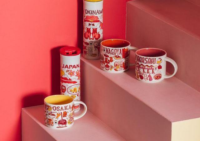 【ついに】スタバの「Been There Series」が日本に上陸!ご当地デザインめちゃ可愛い。