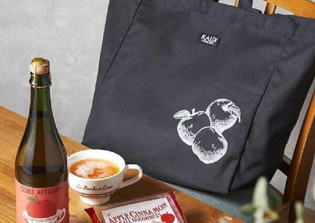 カルディに今年も「りんごバッグ」キター!大容量の可愛いバッグは絶対ゲットね。