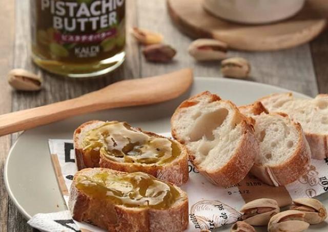 カルディに「ピスタチオバター」だと!?食べたらパンが止まらなくなるかも。