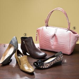 秋コーデにおすすめの婦人靴&ハンドバッグが大集合!