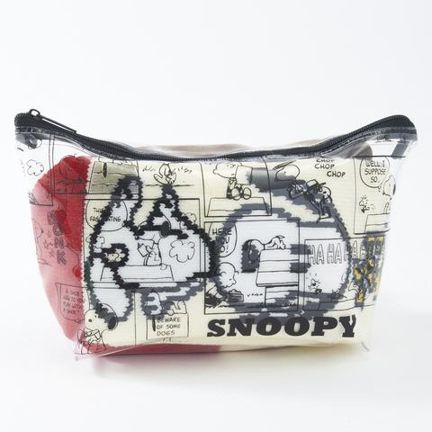 【しまむら】スヌーピーもディズニーもあるよ!「ポーチ付き靴下セット」が可愛い。